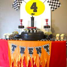 Trenton's 4th Racecar Birthday Bash - Race Car