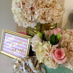 Blushing Bridal Brunch - Pink, Mint and Gold