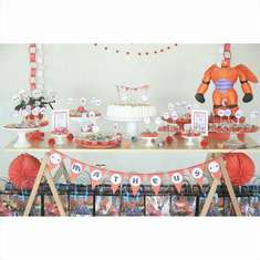 Matheus' Big Hero Party  - Big Hero 6