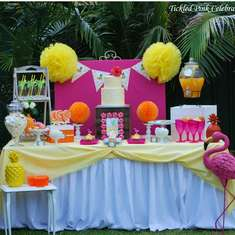 Tropical Party with a Pink Flamingo twist - Tropical Summer Party