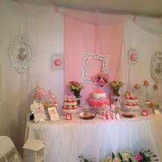 Bailerina - baby girl shower