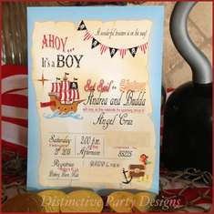 Ahoy It's A Boy! - Baby Pirate