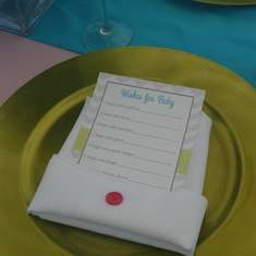 vintage baby shower - cute as a button