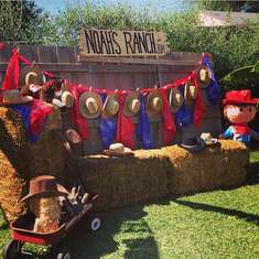 1st Birthday Bash at Noah's Ranch - Western Cowboy
