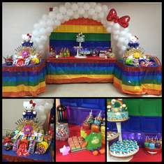 Kelis 7th Birthday Party  - Rainbow Brite Hello Kitty