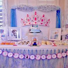 Hollan's Frozen themed 6th birthday - Frozen (Disney)
