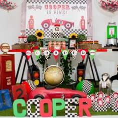 Coopers 5th Birthday - Racing Car