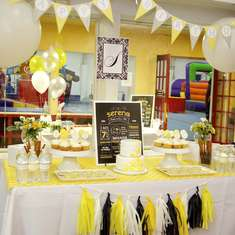 Serena's Sunny Seventh Birthday Party! - Yellow