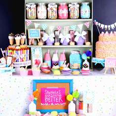 Sprinkles & Sweet Treats Party - Sprinkles with sweet treats and desserts!