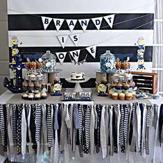 Nautical 1st Birthday with Special Guests! - Nautical Minion