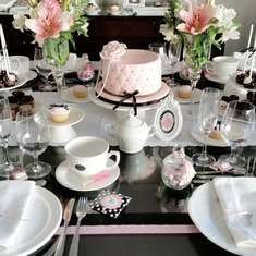 Noelia's Birthday Party - Tea Party