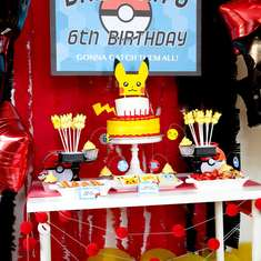 Pokemon Birthday Party - Pokemon