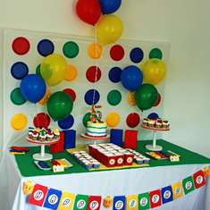 It's A Block Party! - Lego-inspired 5th Birthday