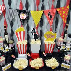 Ready To Pop Baby Shower - Ready To Pop Popcorn Bar