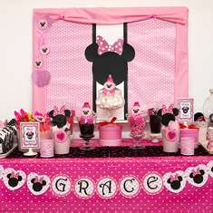 Grace's Minnie Mouse 2nd Birthday Party - Minnie Mouse