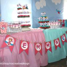Emma's Girly Planes 1st Birthday - 1st Birthday