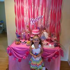 Karrahs 5th Barbie Style - Barbie sparkle