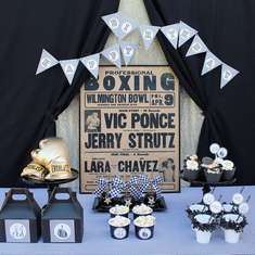 Vintage boxing party - Boxing