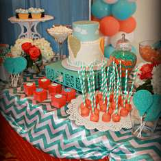 Fly Away With Me Baby Shower - Hot Air Balloon