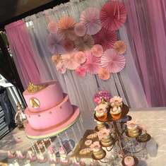 Baby Shower - Coral and Gold Shower