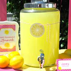 Lemonade and Sunshine Birthday Party - Lemonade and Sunshine