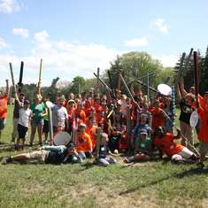 Camp Half-Blood Field Day - Percy Jackson