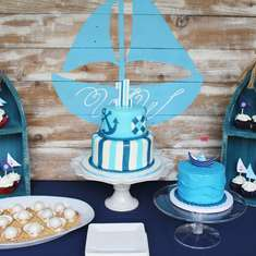 Walker's Wonderfully Nautical 1st Birthday Party - Nautical
