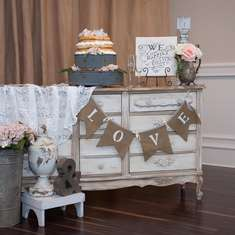 "Sweet Little Couple  - ""Shabby Chic Vintage"""