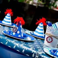 Nautical Themed 1st Birthday Party - nautical