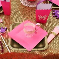 PRINCESS TEA PARTY IN PINK AND GOLD - PRINCESS TEA PARTY IN PINK AND GOLD