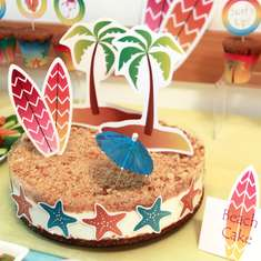 Summer Beach Birthday Party - Beach / Surf