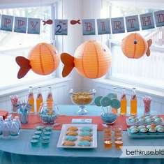 Goldfish Party - Fish