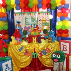 Elmo/Sesame Street 1st Birthday  - None