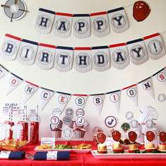 Baseball Birthday Party - Baseball