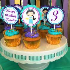 Princess Jasmine, Natalie's 3rd Birthday - Princess Jasmine