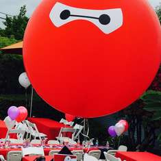 Big Hero 6 Birthday Party - Big Hero 6