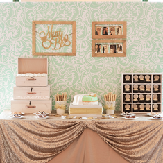 A Mint to Be Bridal Shower - Mint Theme