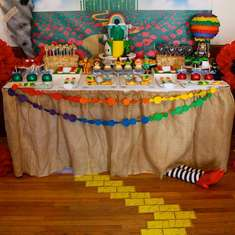 Wizard of Oz Baby Shower - Wizard of Oz