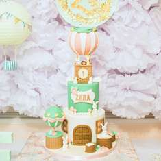 Zara's Vintage Hot Air Balloon First Birthday  - Vintage Hot Air Balloon