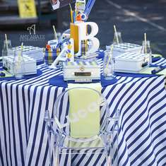 Back to School Playground Party - Preppy Chic Playground Party
