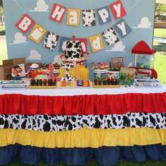 Toy Story 3rd Birthday Party - Toy Story