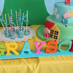 Grayson is TWO!!! - Peppa Pig