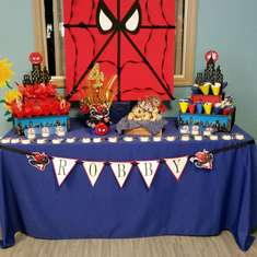 Robby's 4th Birthday  - Spiderman