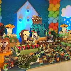 A lovely Noah's Ark Party - 1st Birthday