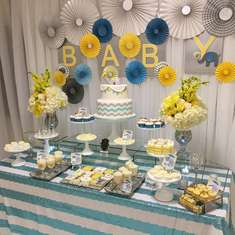Glam babyshower - Elephants