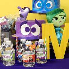 Inside Out Movie Party - Mia Andrea's 6 Birthday Bash