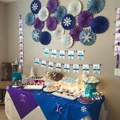 Morgan & Leah's 3rd Birthday Party - Frozen (Disney)