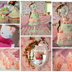 HELLO KITTY SHABBY CHIC PARTY - Hello Kitty