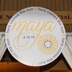 Maya's Here Comes The Sun Bat Mitzvah - Here Comes The Sun Bat Mitzvah