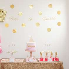 Pink and Gold Princess Party - Princess Party